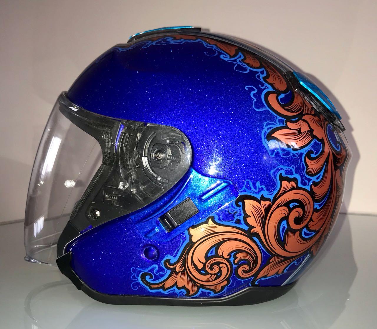 Аэрография шлемов картинки
